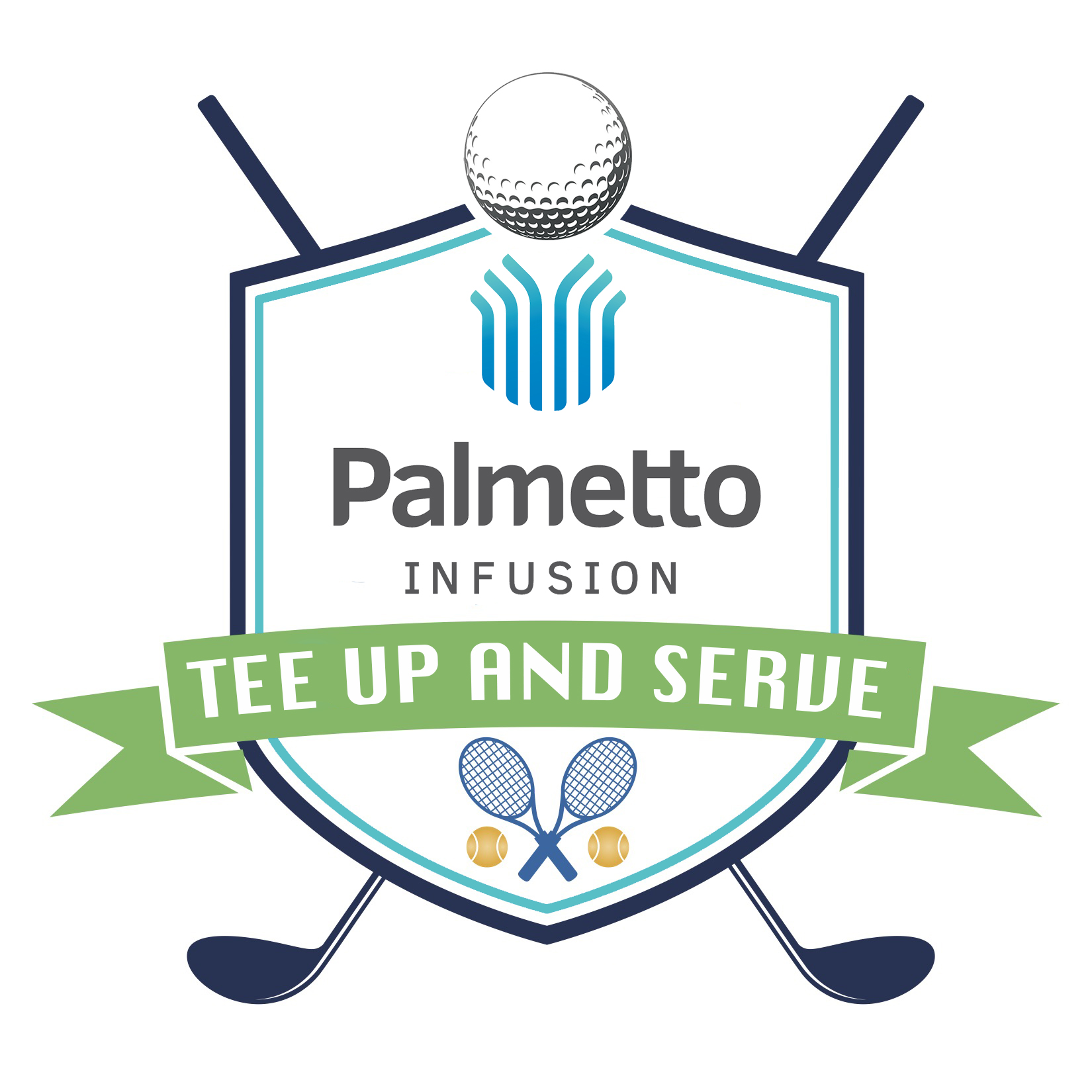 Tee Up and Serve Graphic Draft image