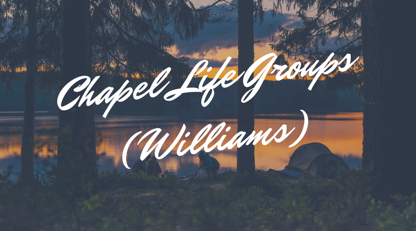 Chapel Life GroupsWilliams image