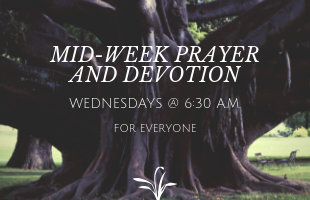 MID-WEEK PRAYER AND DEVOTION featured image