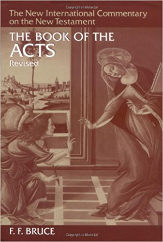 Ff bruce the book of acts