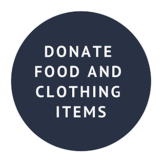 Donate Food and Clothing Items