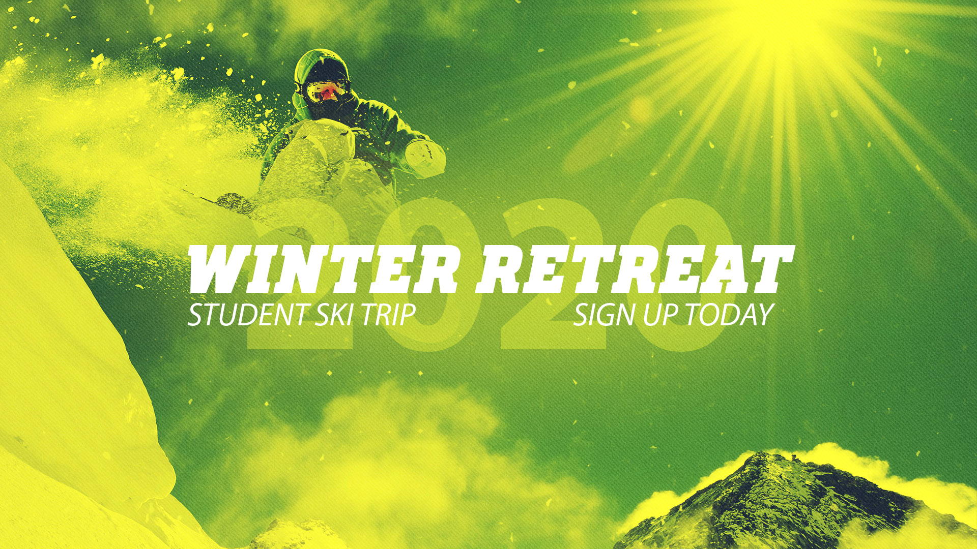 Winter Retreat Boarder image