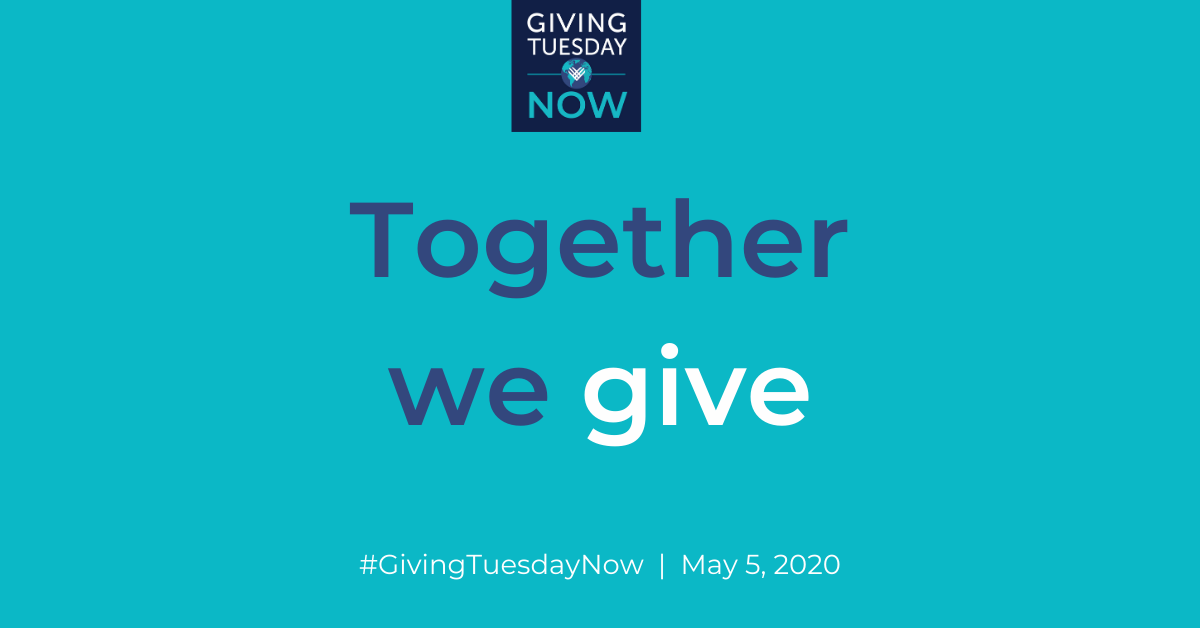 Giving Tuesday - Together We Give