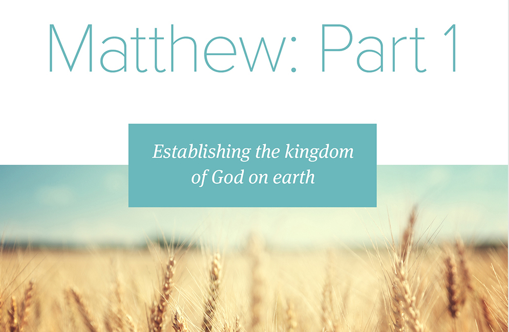 Institute - 2019 - Bible Studies - Matt 1 image