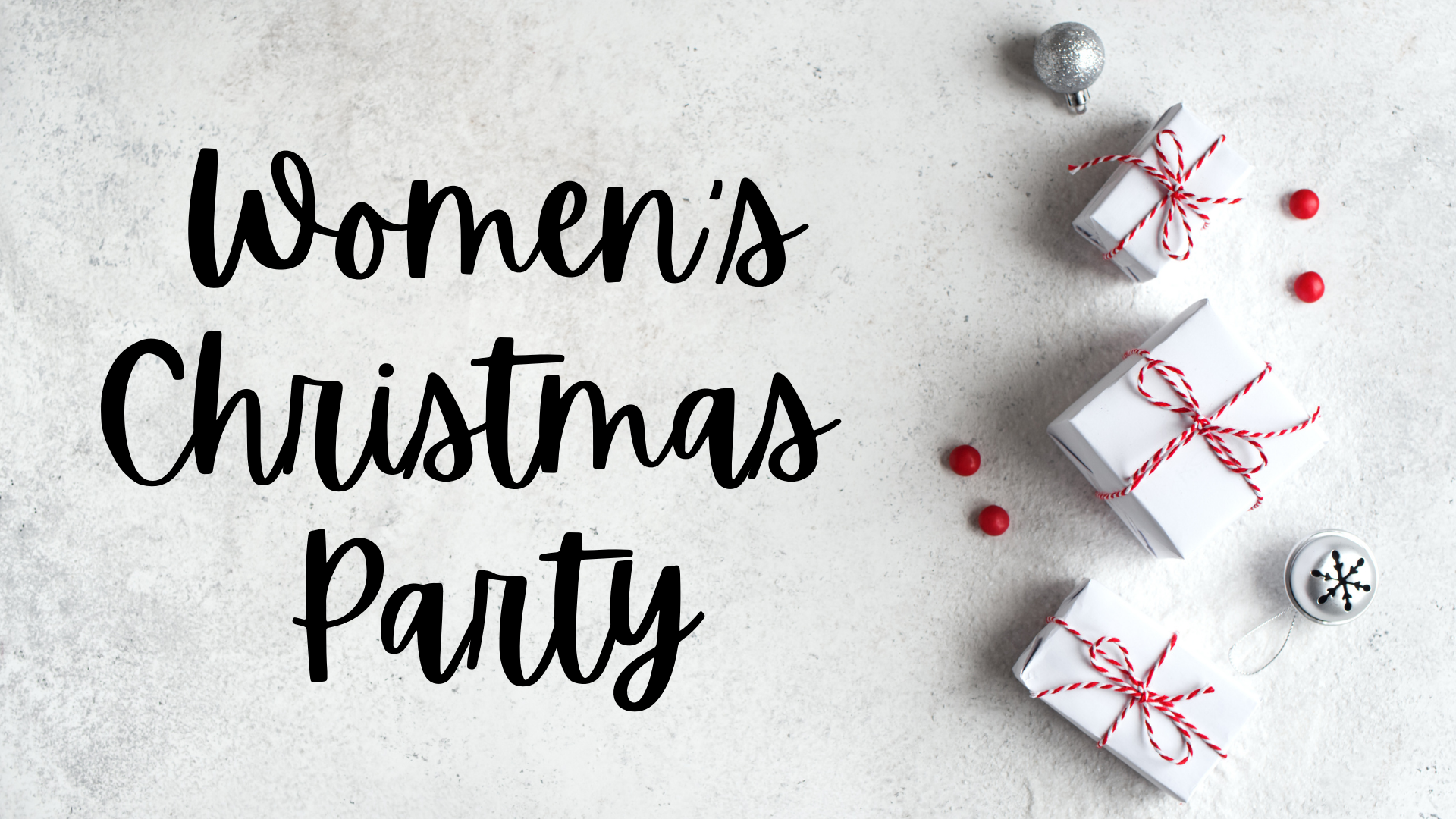 Women's Christmas Party 1920x1080 image