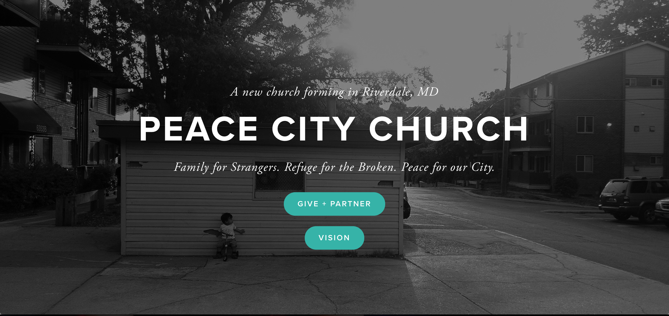 Peace City announcement