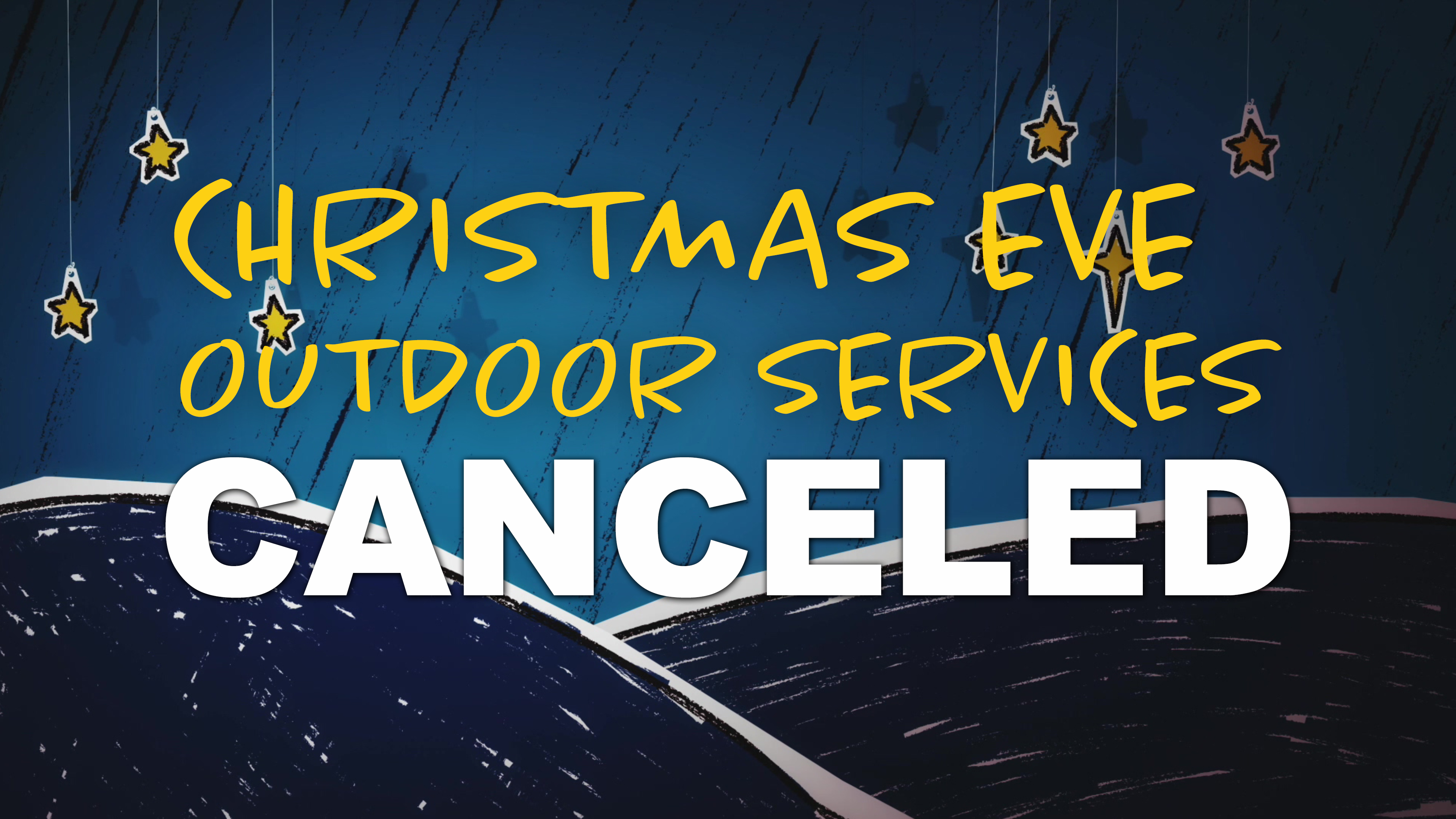Christmas Outdoor Canceled