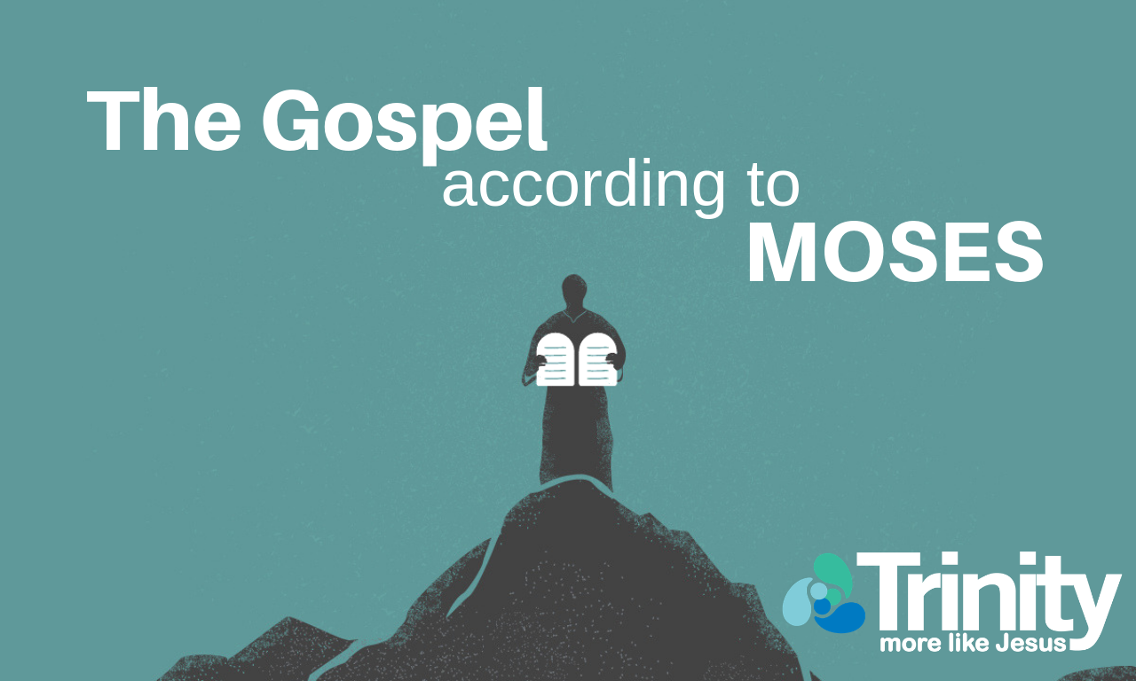 The Gospel According to Moses banner