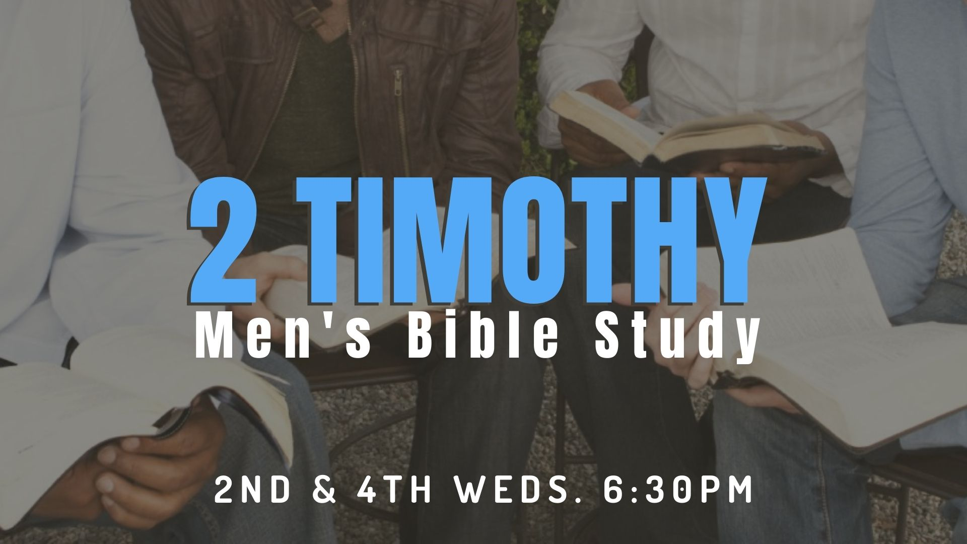 2021 Late Spring Men's Ministry Screen image
