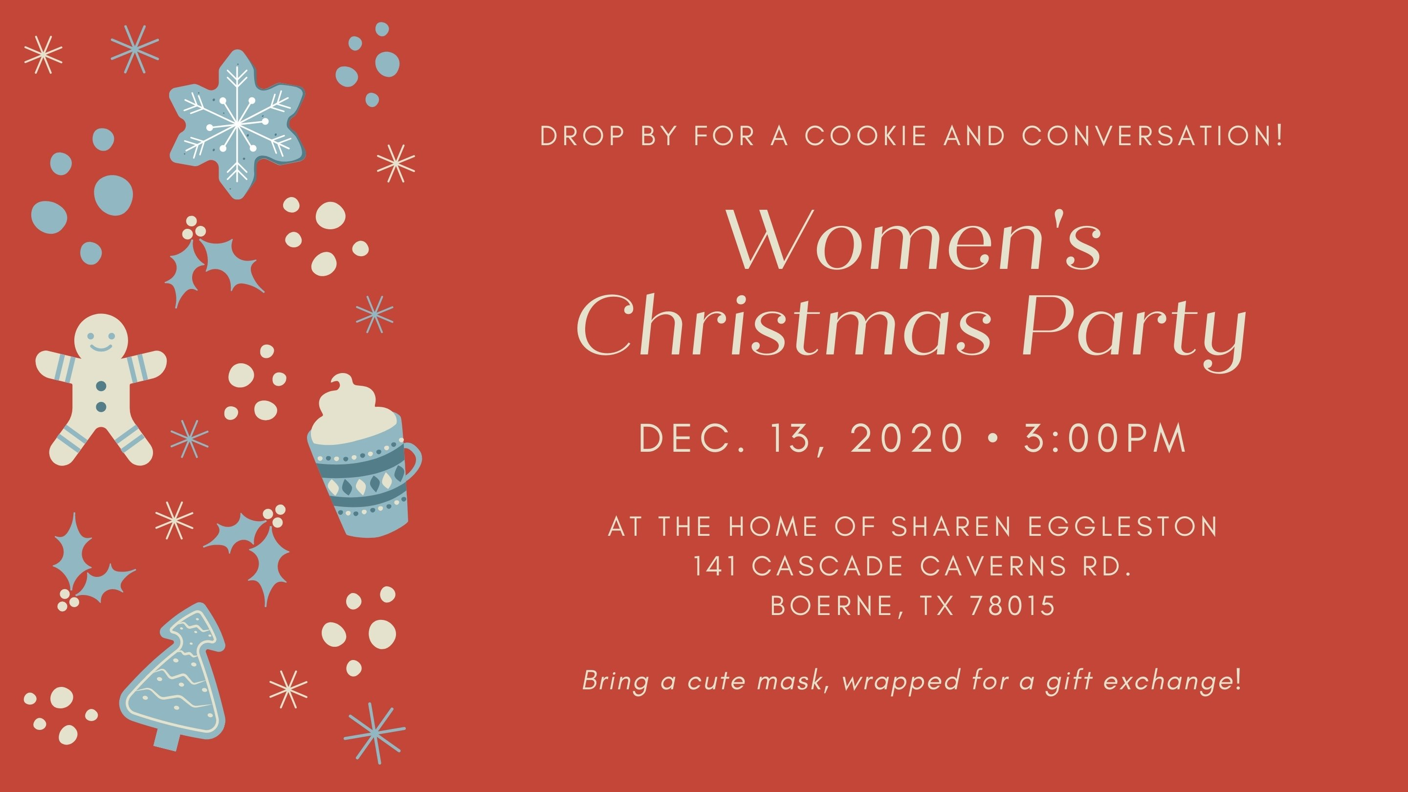 Women's Christmas Party 2020