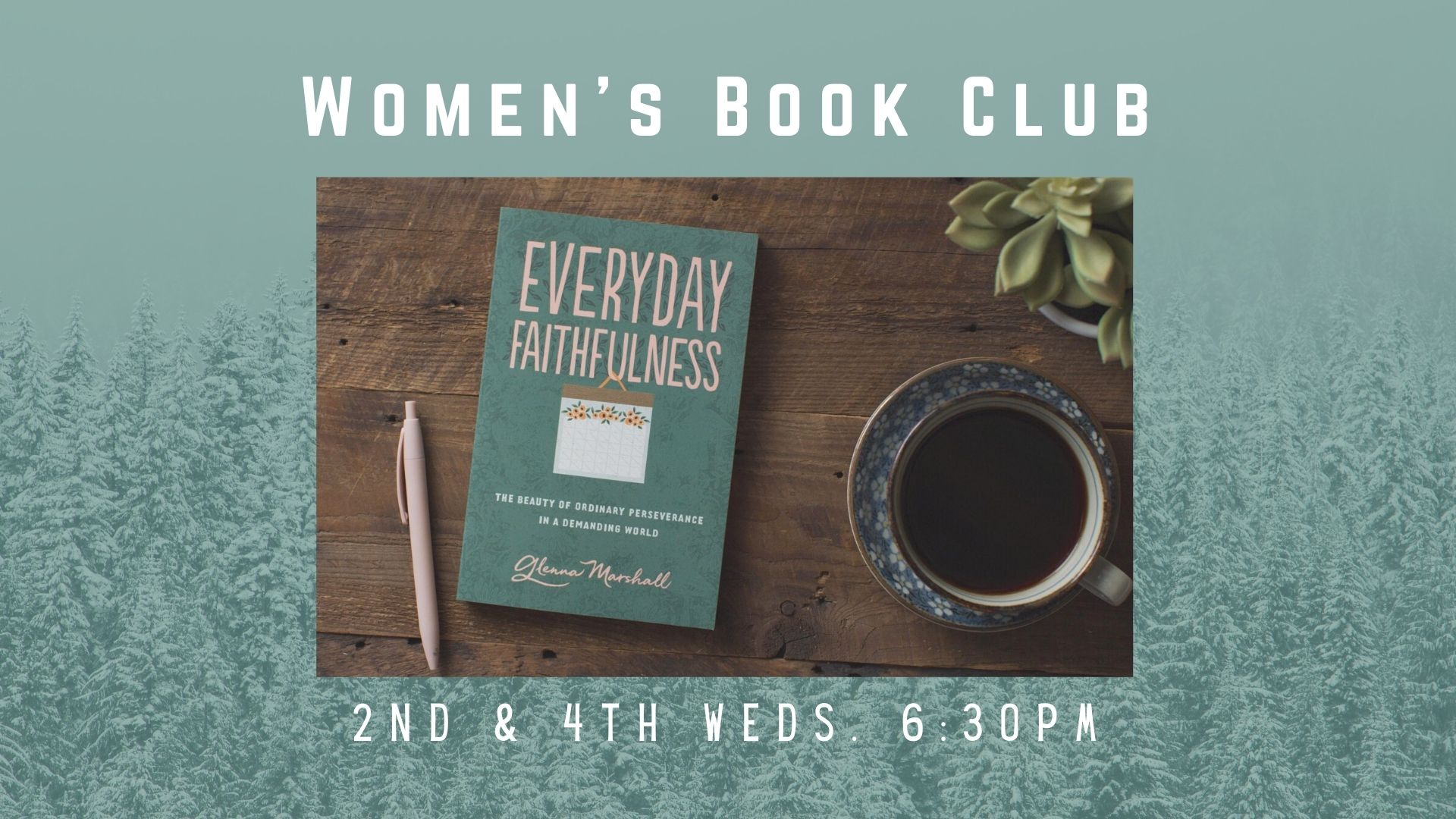 Women's Spring 2021 Wed. Bookclub Screens