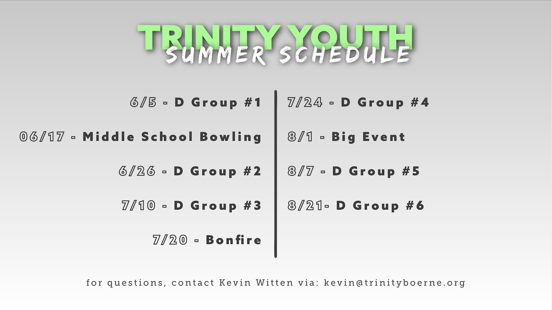 youthschedule