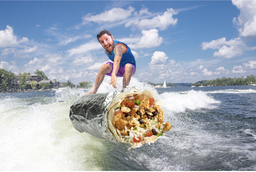 Burrito Surfer Jeff