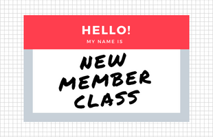 Event Image - New Member Class image