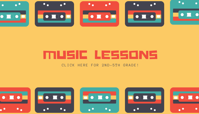 Music Lessons 2nd-5th grade