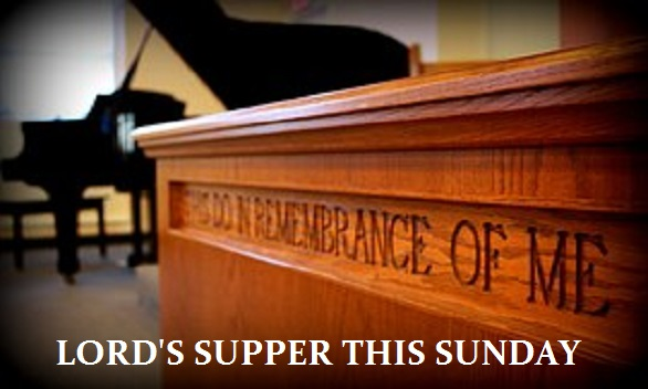 1.Lord's Supper