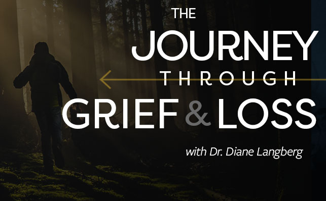 The Journey through Grief and Loss banner