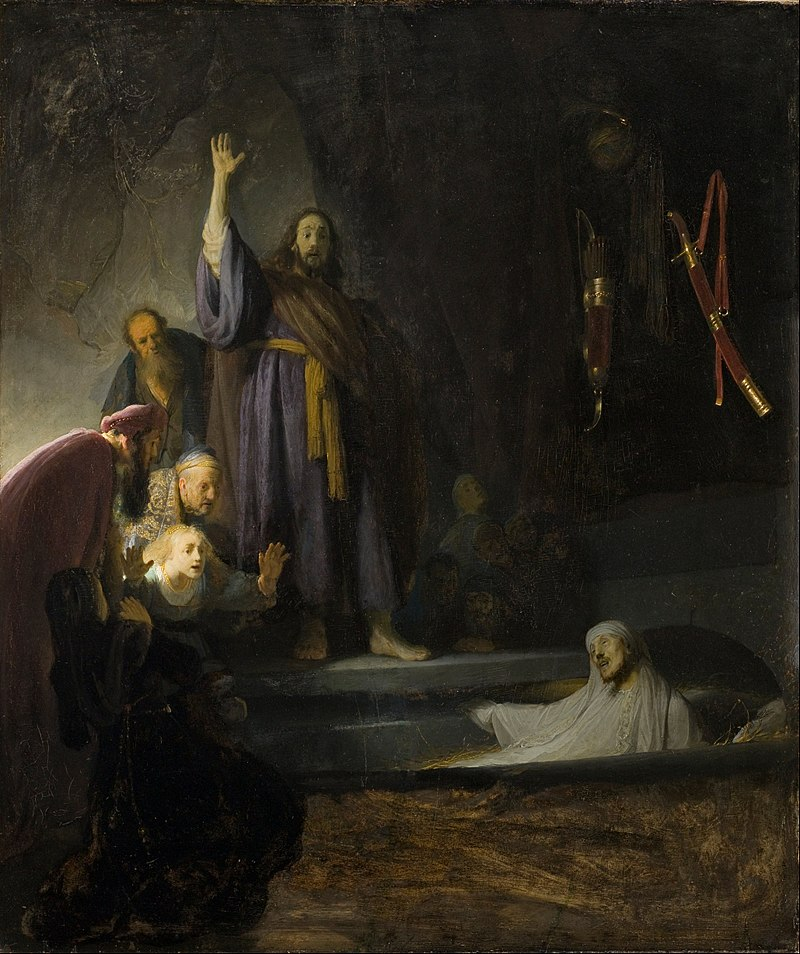 800px-Rembrandt_Harmensz._van_Rijn_-_The_Raising_of_Lazarus_-_Google_Art_Project