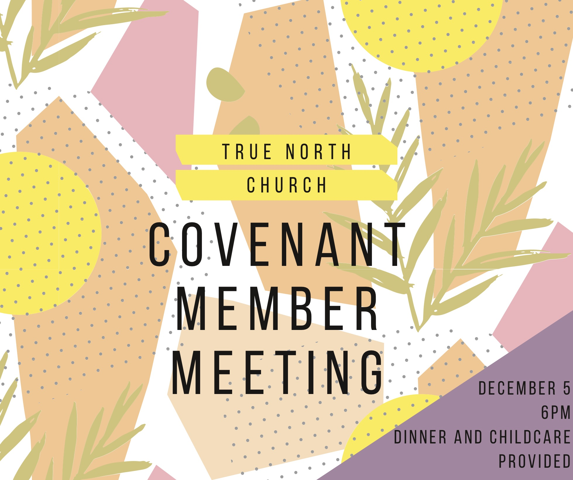 Covenant Member Meeting (1)