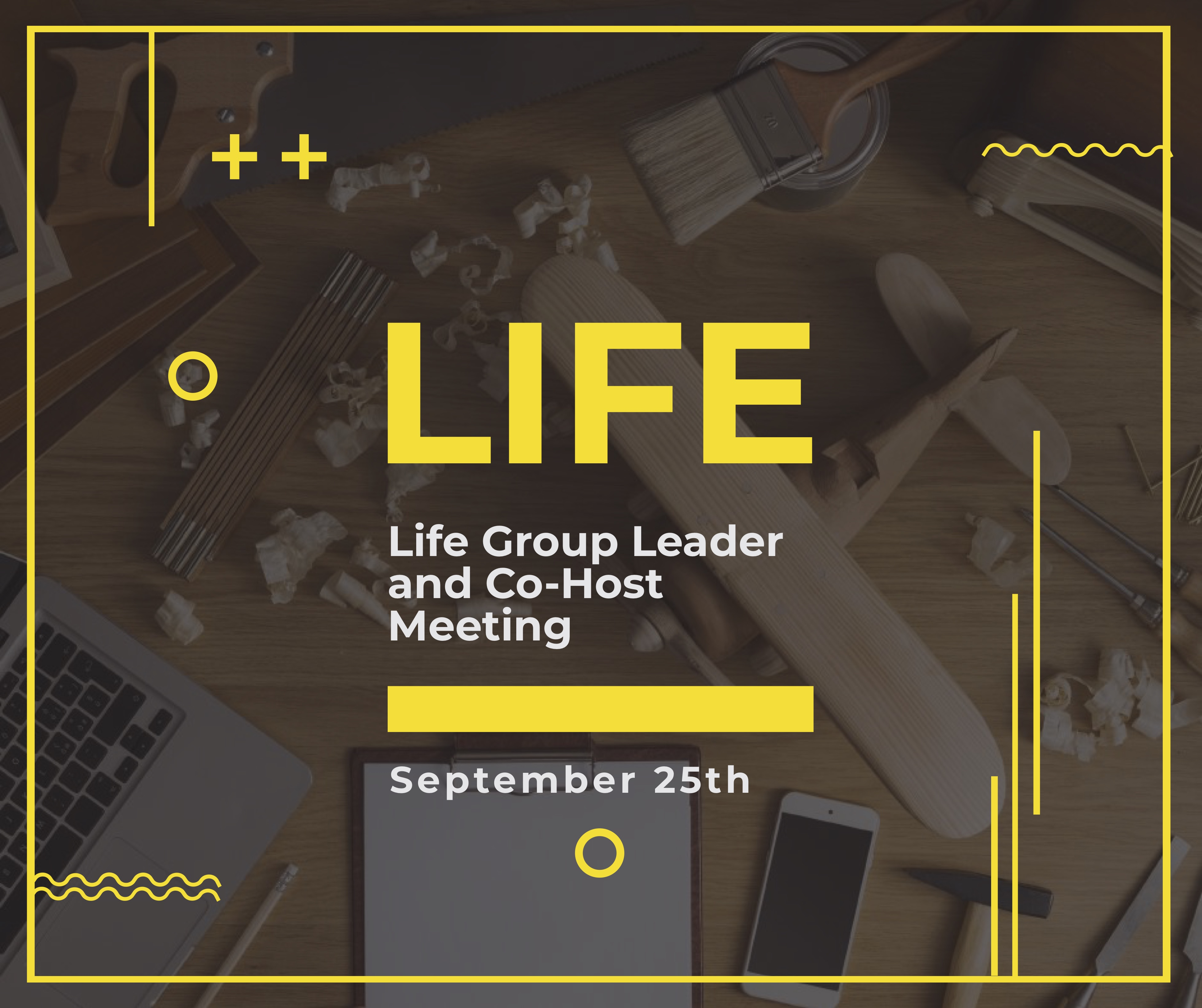 Life Group Leader Meeting 925 image