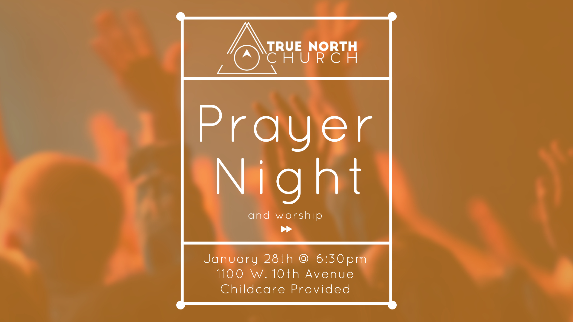 Prayer Night and Worship 1-28