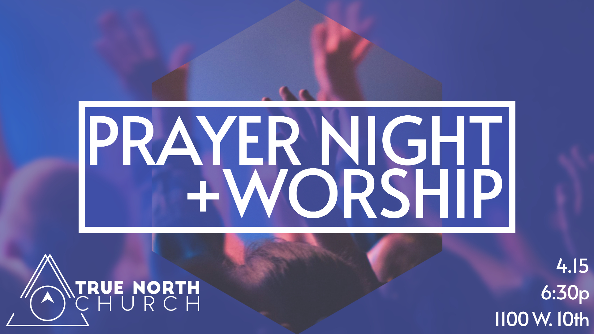 Prayer Night Announcement image