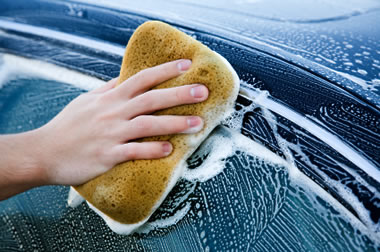 car wash sponge image