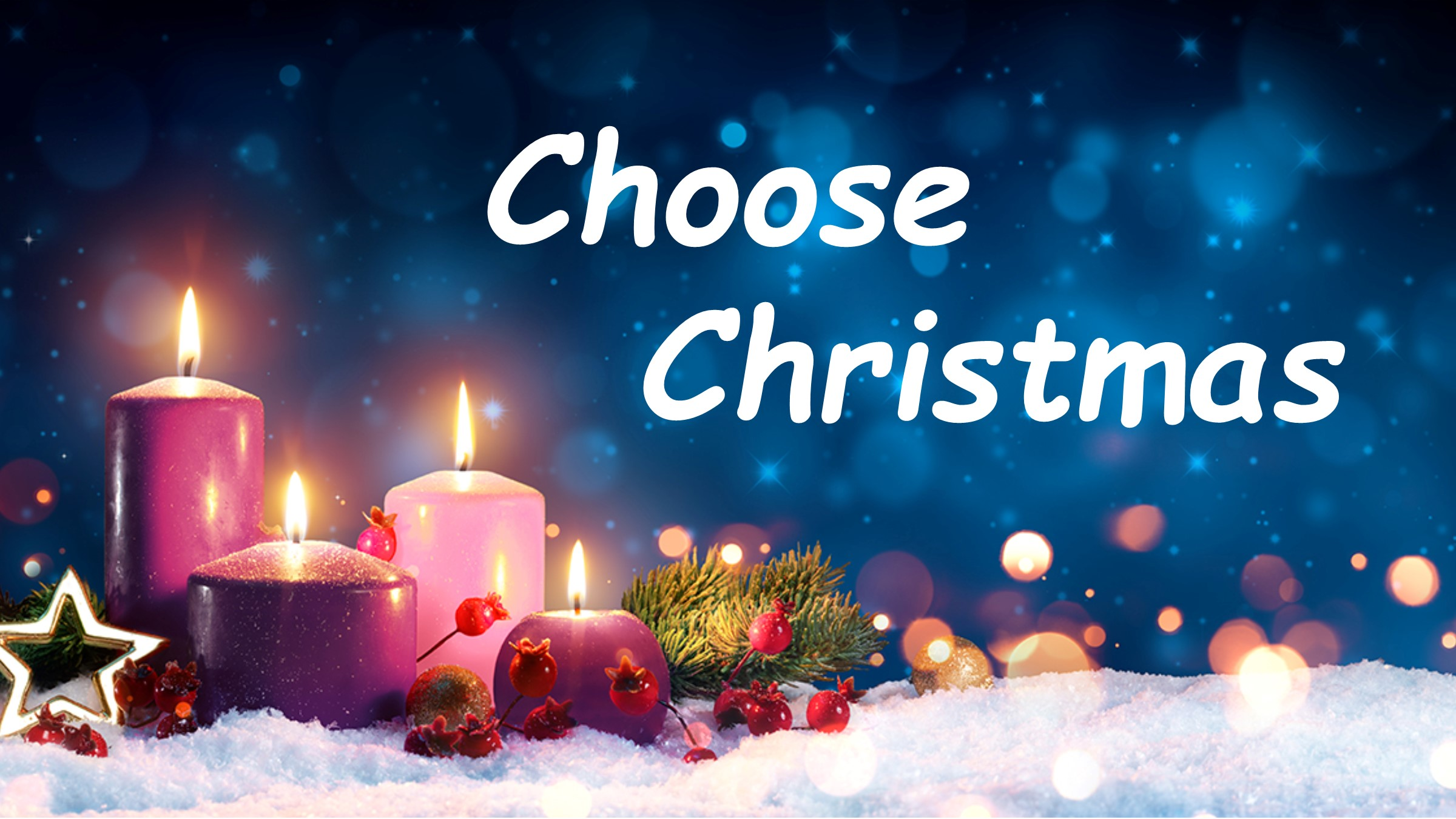 Choose Christmas
