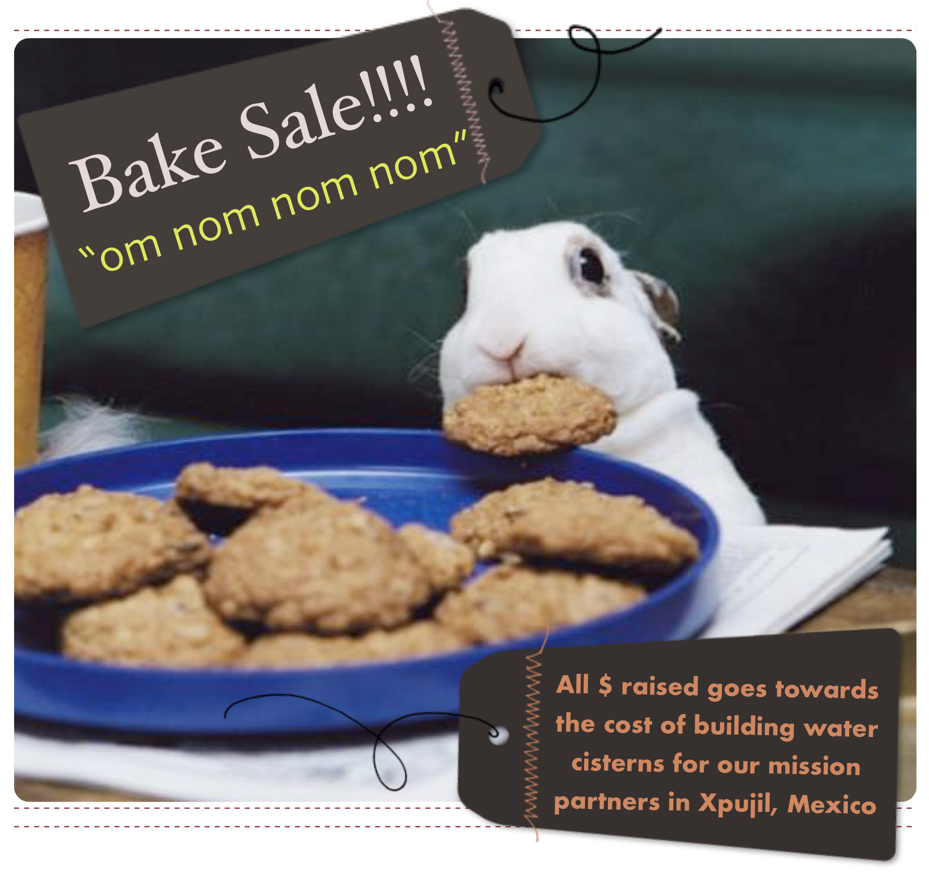 sr high bake sale graphic