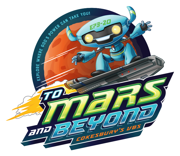 VBS to mars and beyond logo