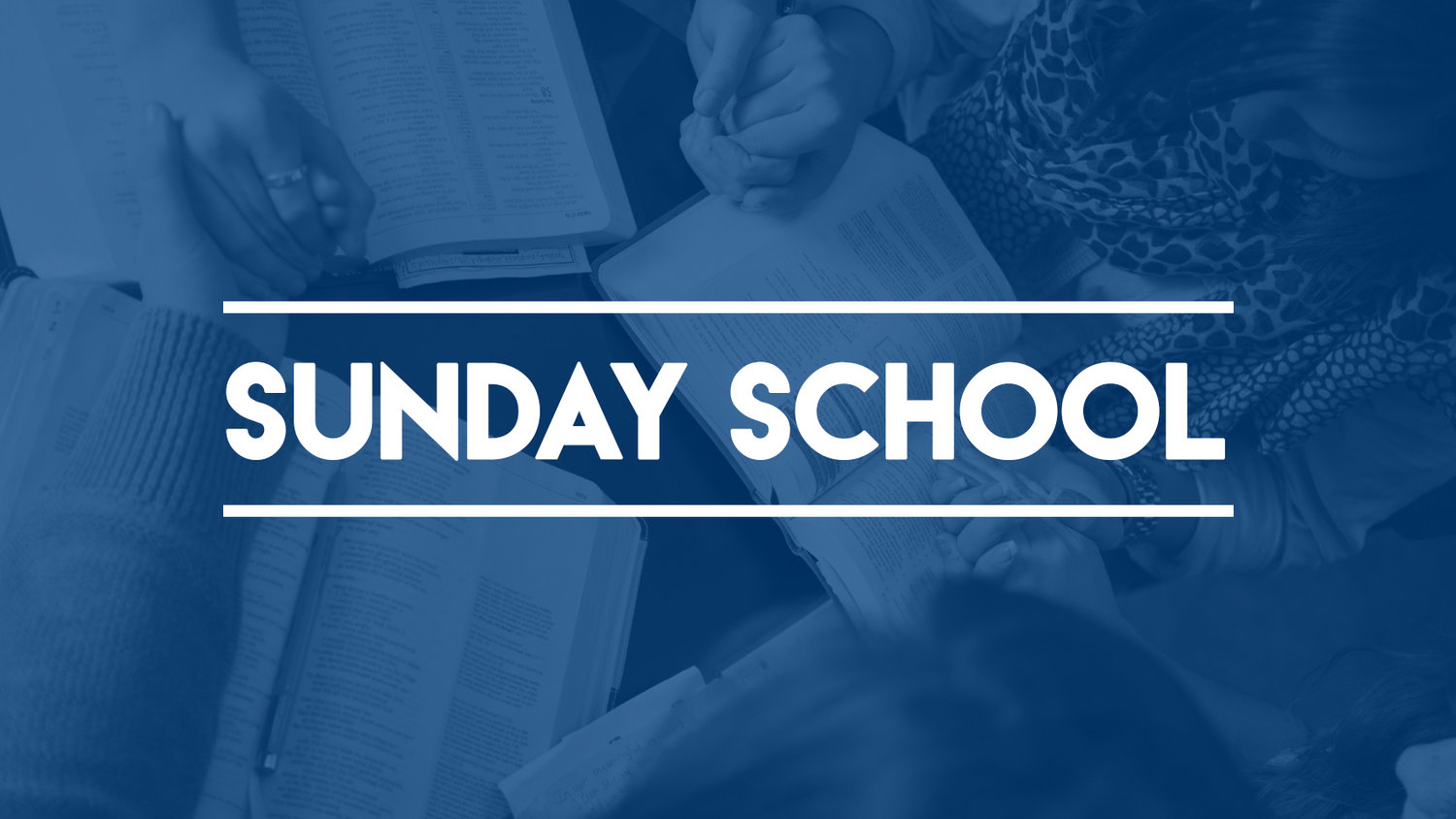 Sunday School image