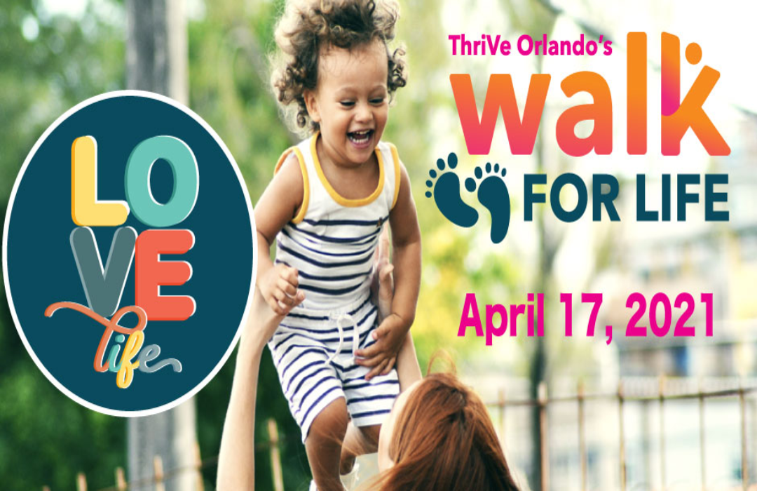 ThriVe Orlando Walk for Life Featured Event Image image