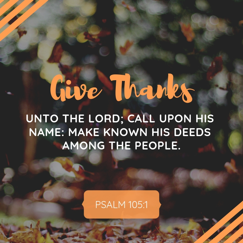 _A Psalm of Thanksgiving_