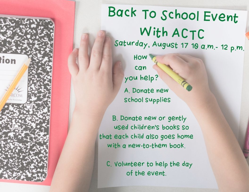 ACTC bts event newsletter image