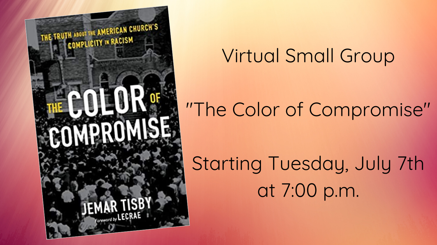 Virtual Small Group _The Color of Compromise_ July 7th hp image