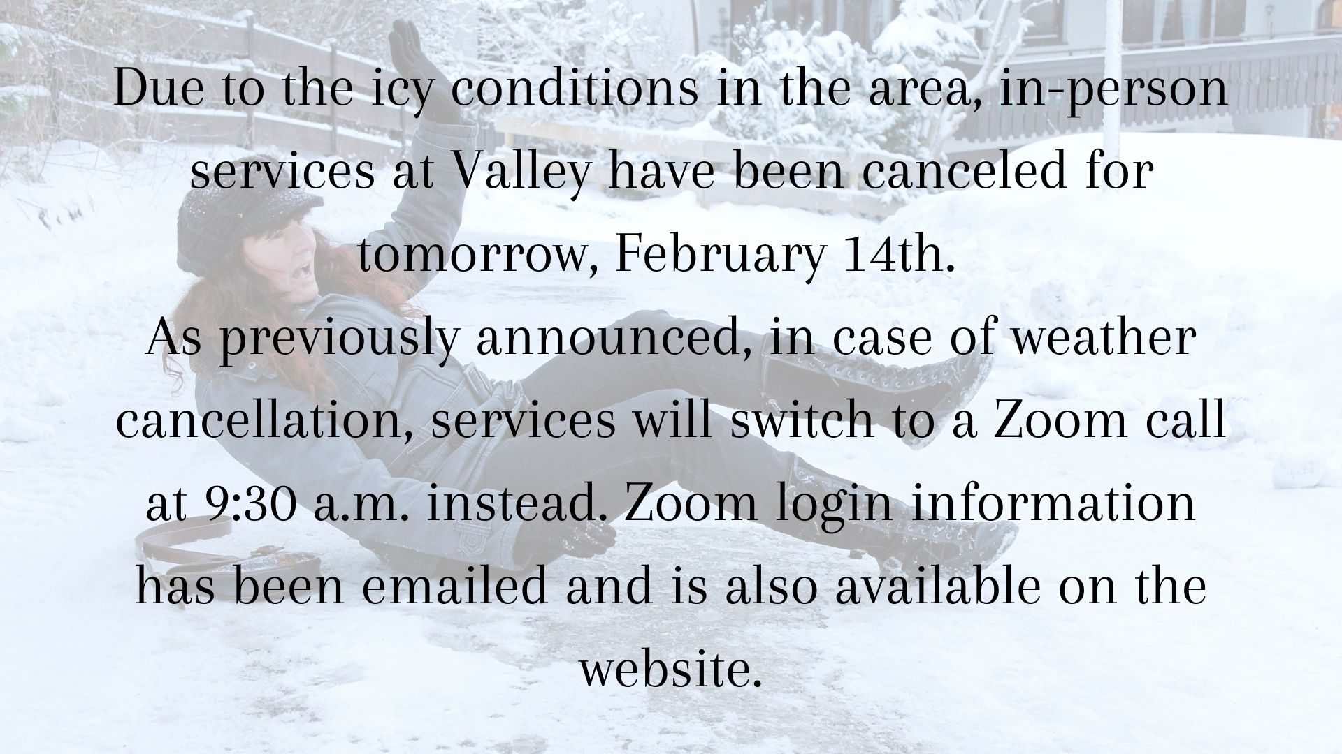 weather cancellation 2.14