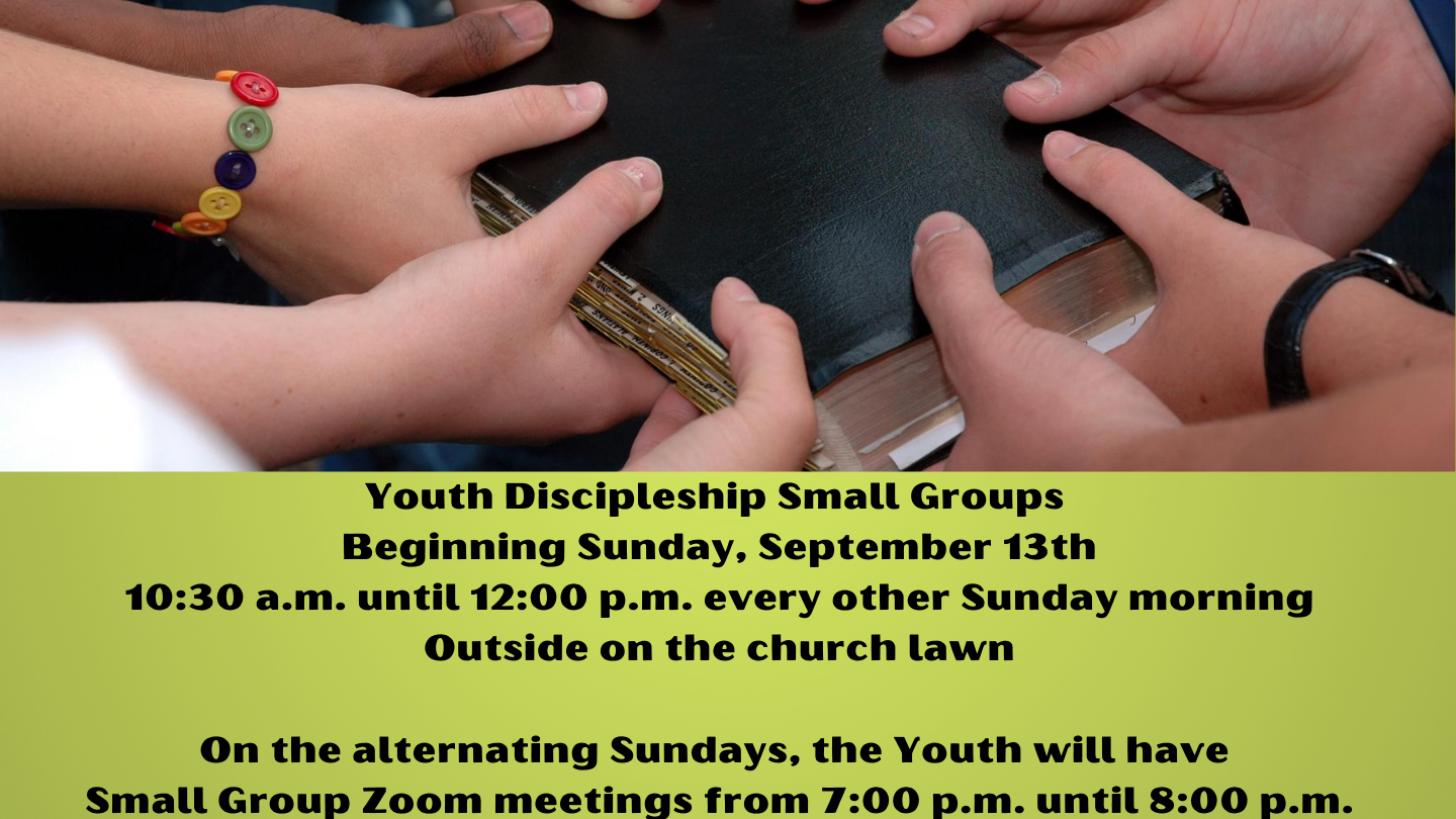 Youth Discipleship hp image