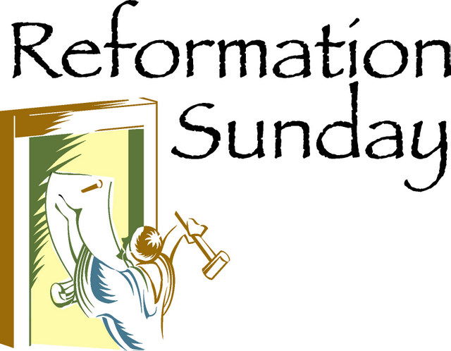 Reformation Sunday 2018 banner