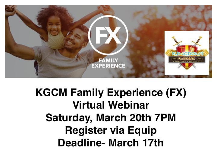 FX family experience image