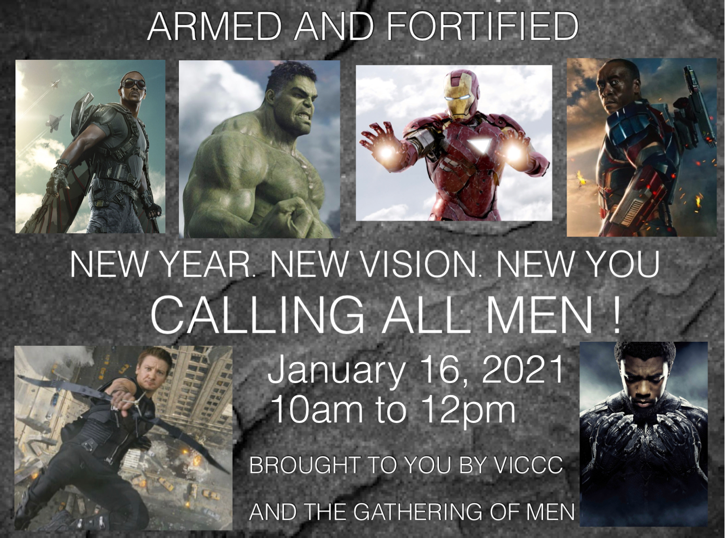 Men's Gathering ARMED AND FORTIFIED