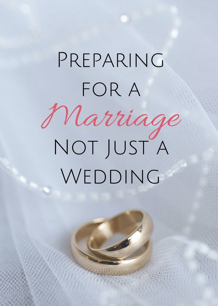 prepare for marriage
