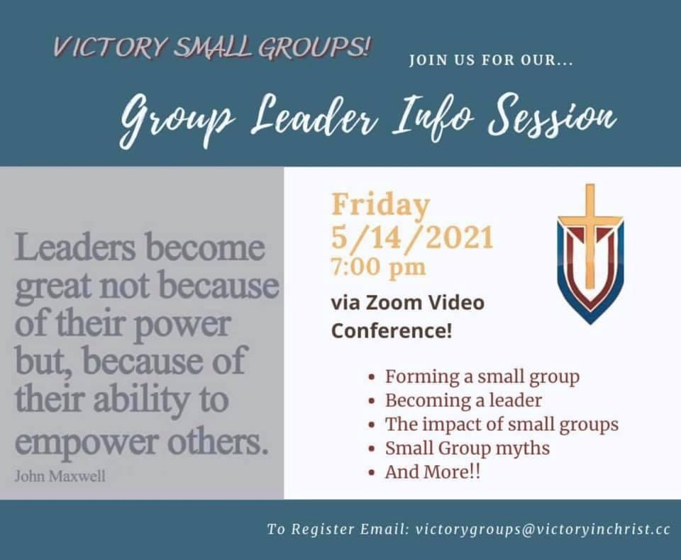 SG Leader Info Session.JPG image