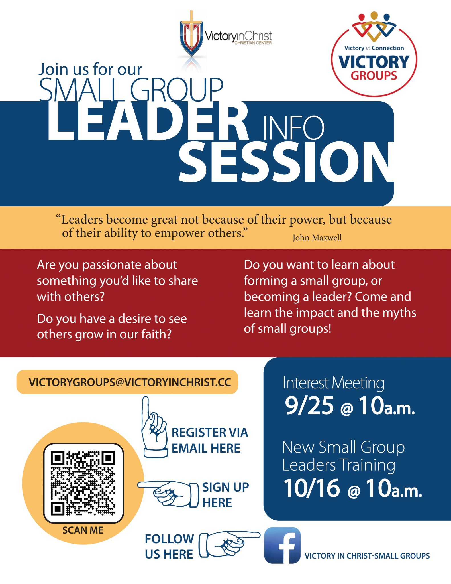 Small Groups Flyer 2021 image