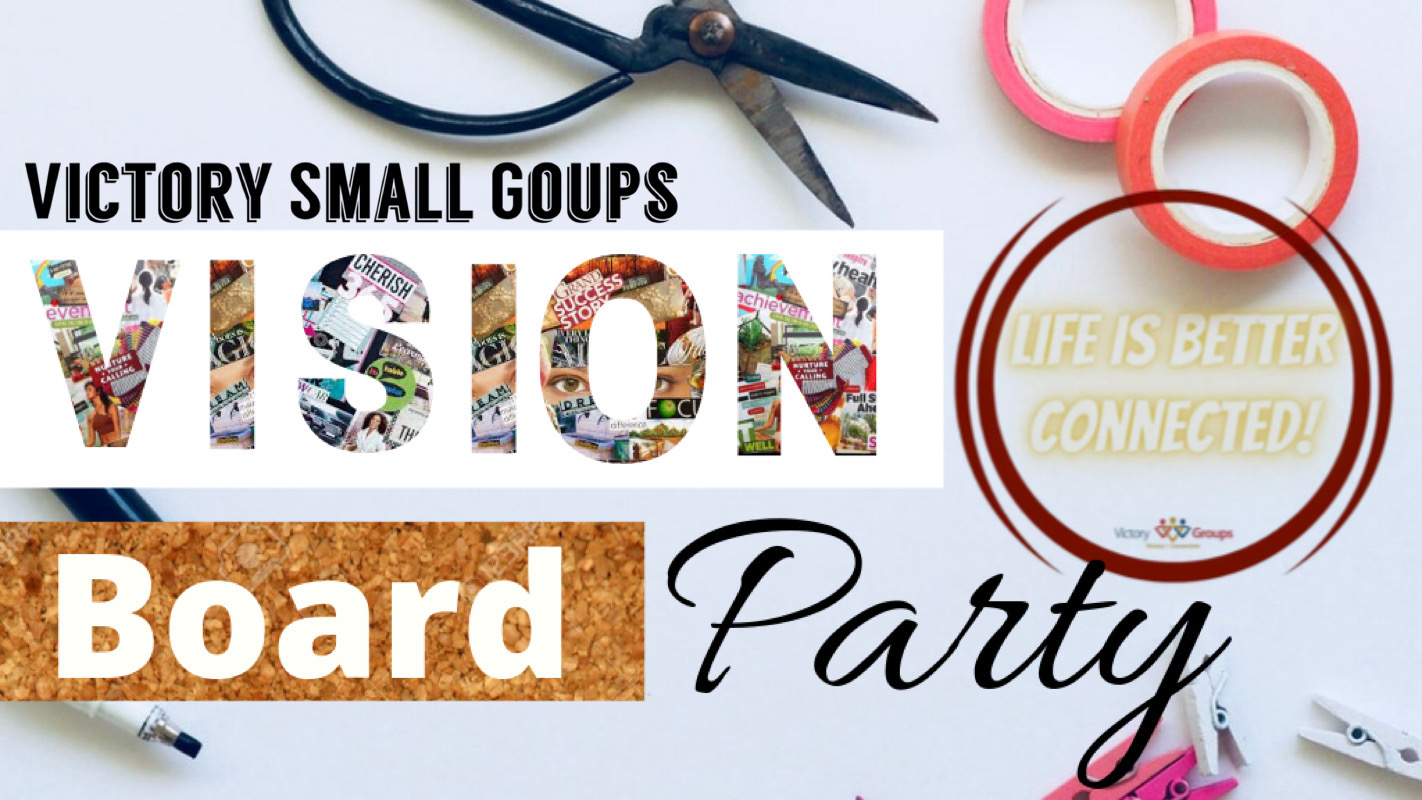 Victory Groups Vision Board Party.JPG image