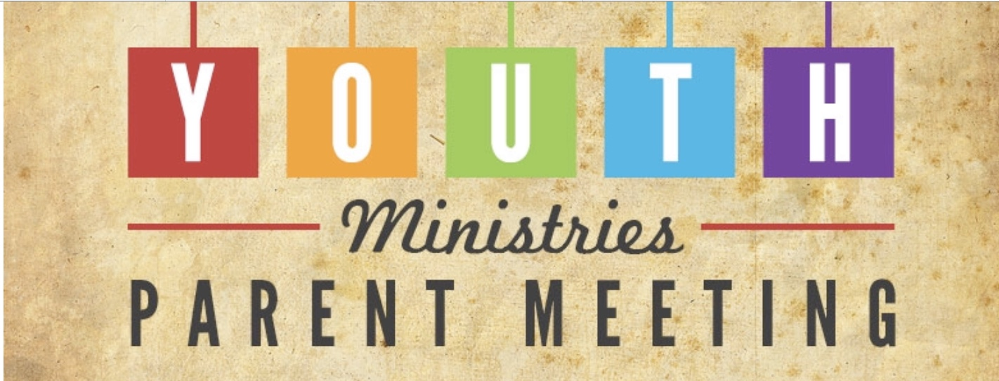 Youth ministry parent mtg