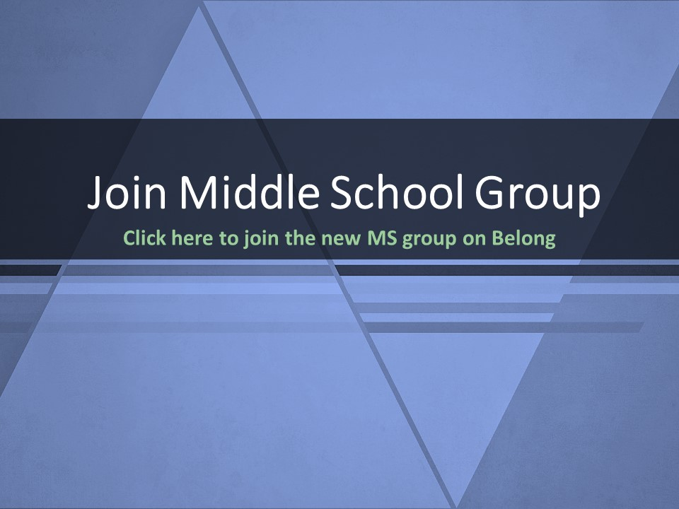Join Middle School Group