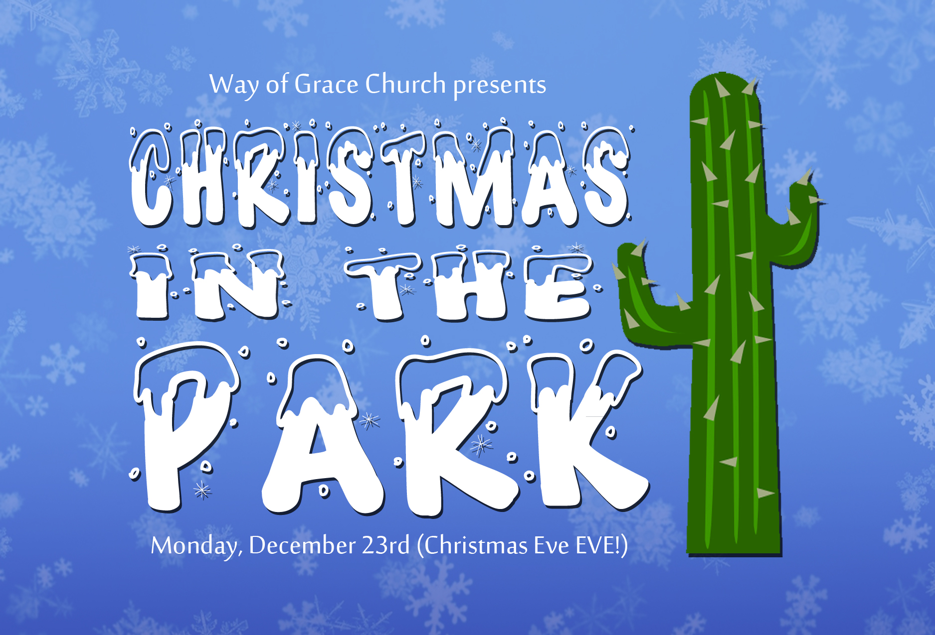 Christmas in the Park Invite FRONT copy