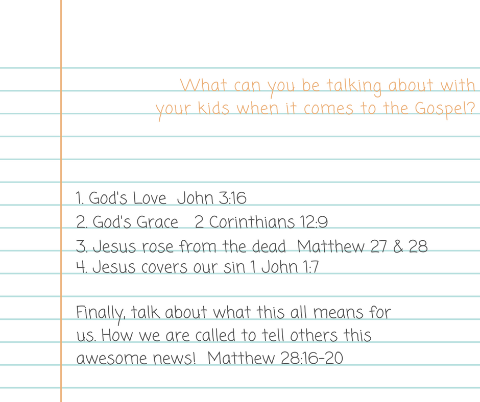 What can you be talking about with your Child this week- (1)