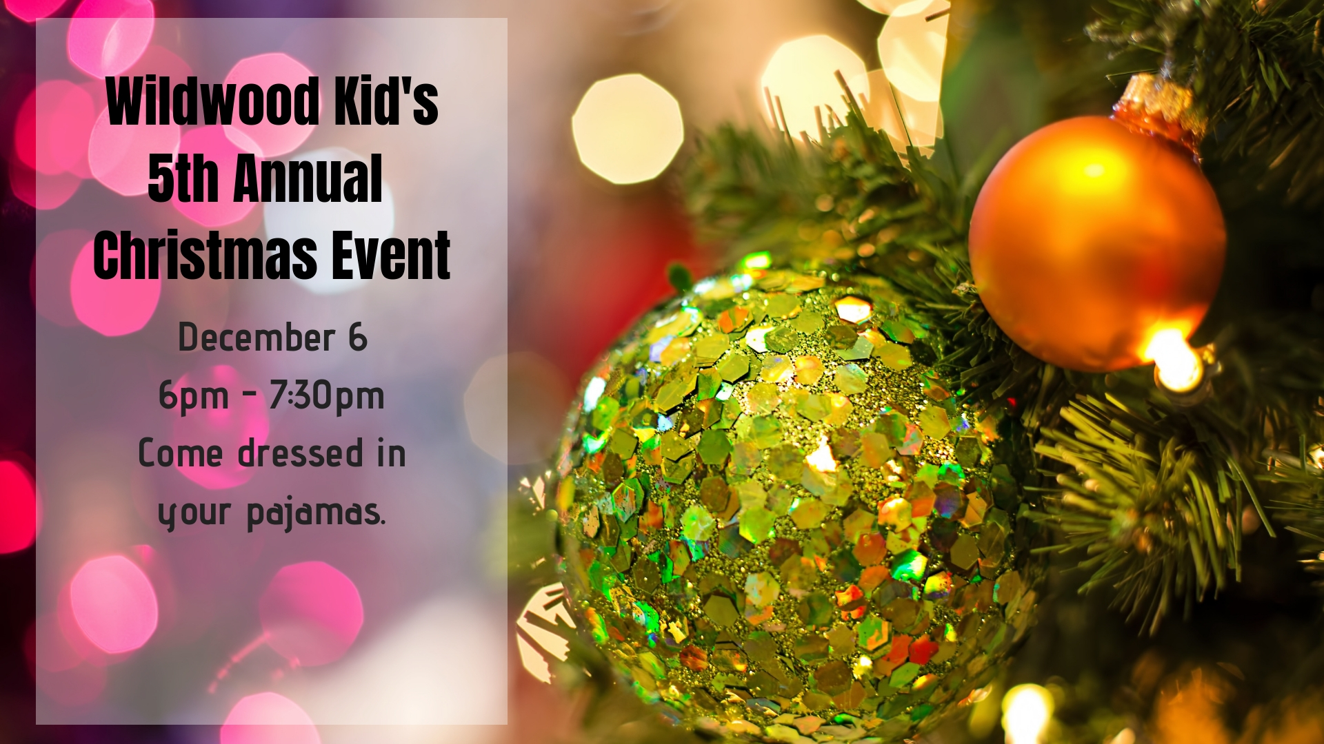 Wildwood Kid's 5th Annual Christmas Event
