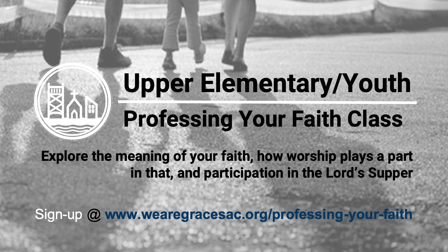 Professing Your Faith